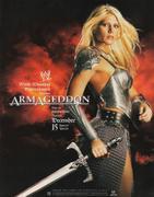 Torrie Wilson - WWE Armageddon 2002 Promo Poster