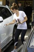 Minka Kelly - out and about in Los Angeles 11/09/12