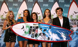Эшли Бенсон, фото 18. Ashley Benson, Lucy Hale, Shay Mitchell & Troian Avery Bellisario at the 2010 Teen Choice Awards 08-08, photo 18