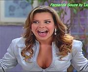 Fernanda Souza sensual na serie Toma lá dá cá